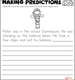 Predicting Outcomes Worksheets Grade 4   Printable Worksheets and  Activities for Teachers [ 2560 x 1978 Pixel ]