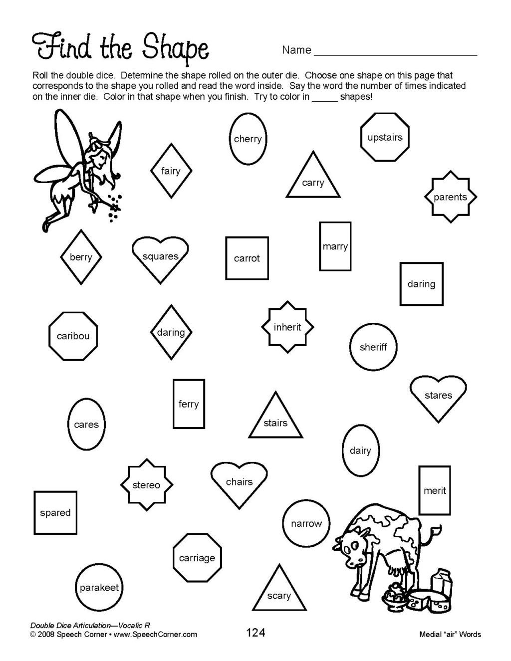 20 Spanish Phonics Worksheets