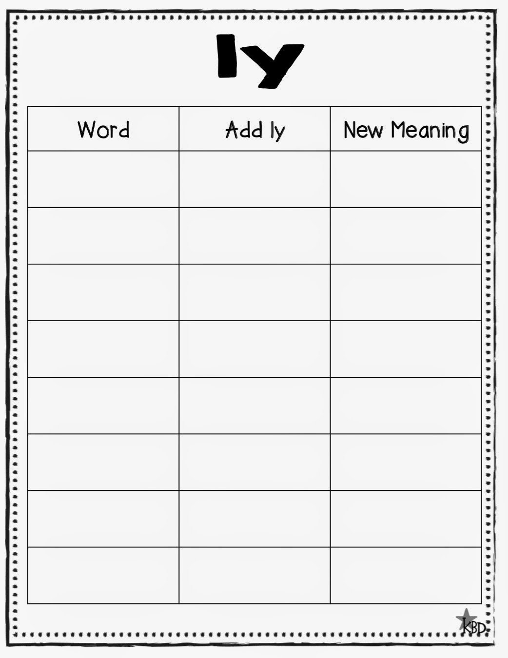 20 Suffix Ly Worksheets