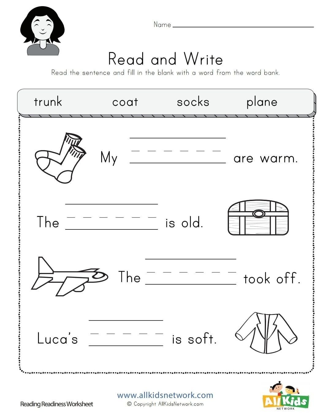 20 Reading Readiness Worksheets