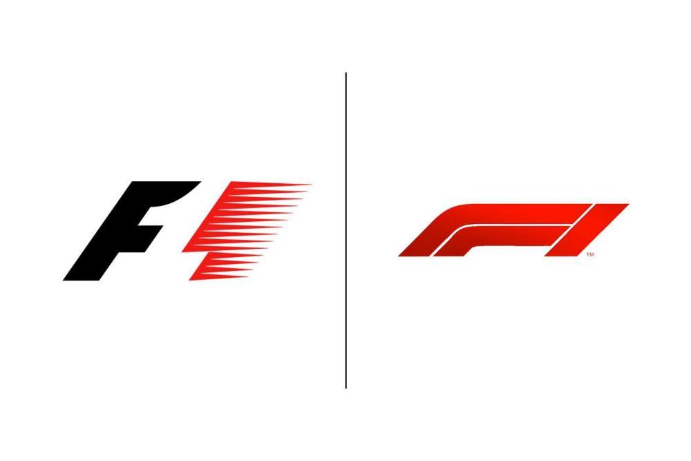 F1 Old & New Logos