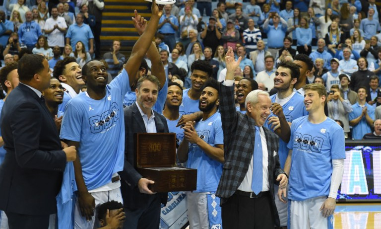 USP NCAA BASKETBALL: SYRACUSE AT NORTH CAROLINA S BKC USA NC