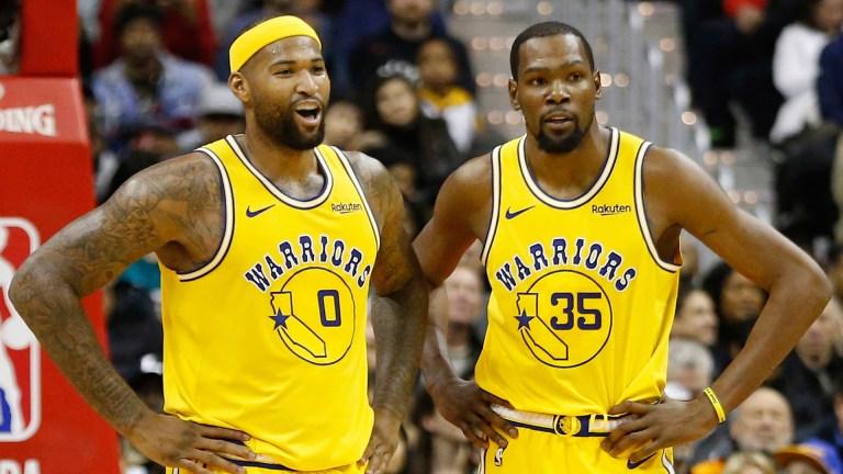Kevin Durant:DeMarcus Cousins