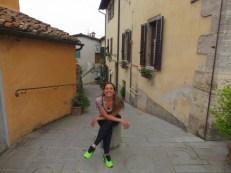 Praça em Castellina in Chianti