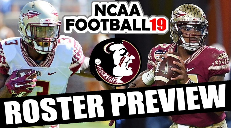Florida State 2018 Roster Preview Updated Rosters For Ncaa Football 14 Operation Sports Rosters Sports Creators