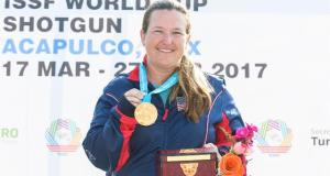 Kimberly Rhode, ISSF World Cup Stage 2, ISSF, ISSF World Cup Stage 2, ISSF World Cup, Latest Shooting News, Latest ISSF News, Latest ISSF World Cup News, Current Shooting News, Current ISSF News, Current ISSF World Cup News, ISSF World Cup News Live, ISSF News Live, Shooting News Live