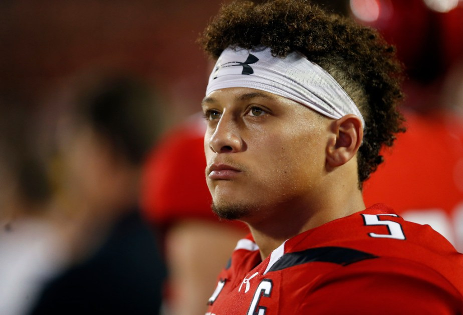 College Sports Patrick Mahomes message to the NFL Just