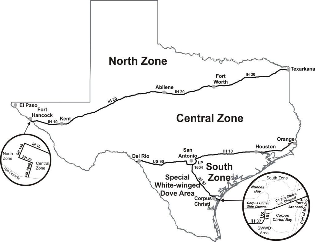 Dove Migration Map