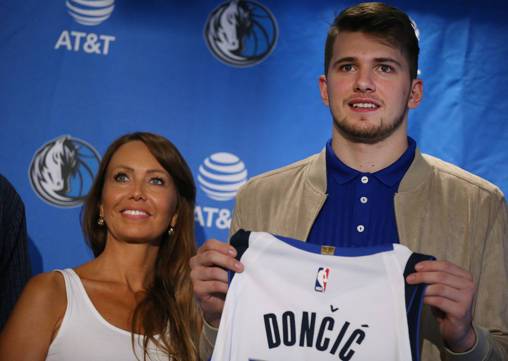 Image result for luka doncic mom