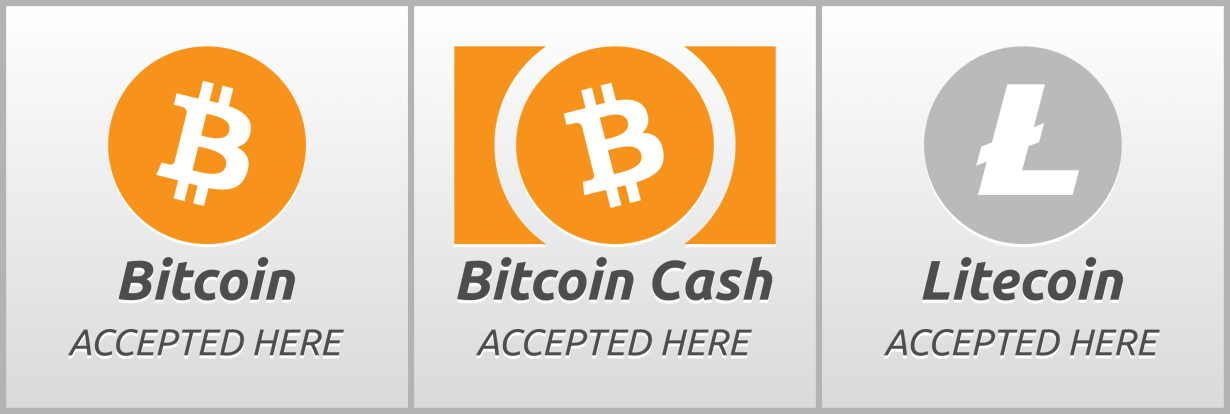bitcoin litecoin accepted