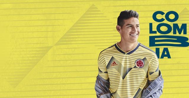 18e546994 SportsEco.com   Adidas presenta la nueva camisa de la Selección Colombia