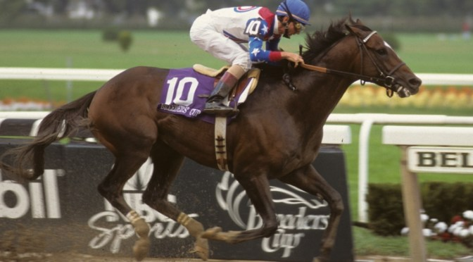 Horse Racing Loses A Great One In Cigar