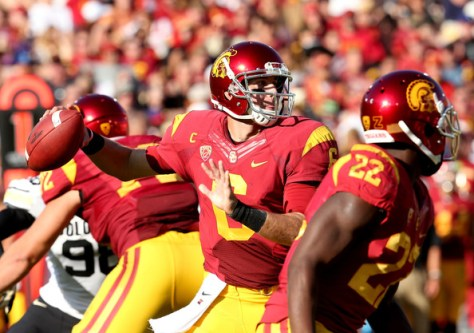Cody Kessler had 7 touchdown passes against Colorado on Saturday (Stephen Dunn/Getty Images North America)