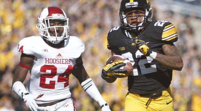 Iowa's Offensive Explosion Leads Them To Victory Over Indiana