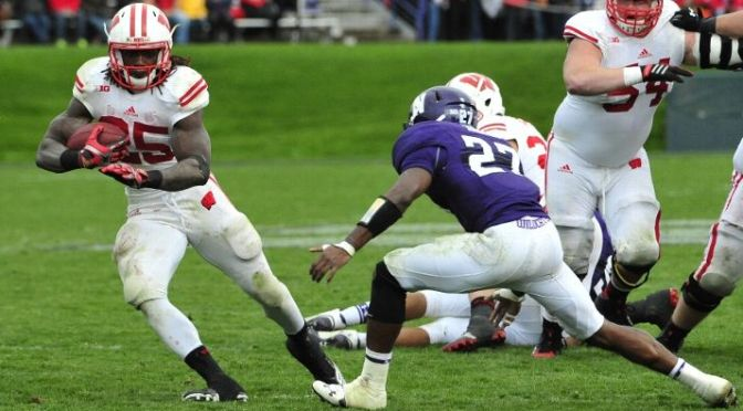 Wisconsin Struggles To Throw The Ball In Loss To Northwestern