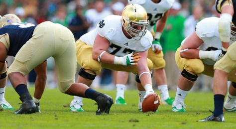 Matt Hegarty against Navy in 2014 ( Paul Walsh/Actionplus/Icon SMI)