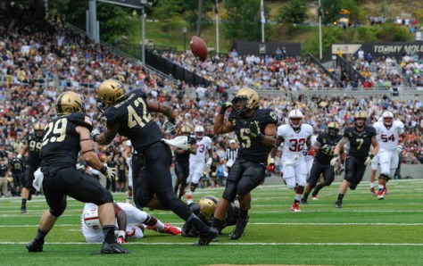 Army at home against Stanford in 2013 (Ron Antonelli/Getty Images North America)