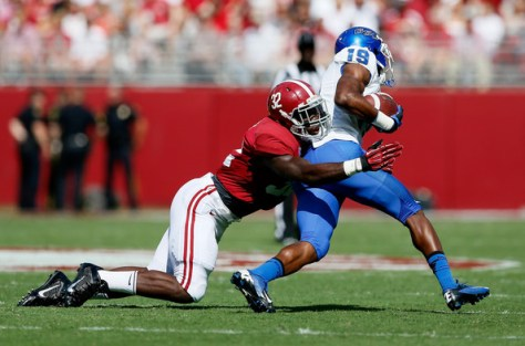 Georgia State and Alabama will meet on the gridiron again in 2020 (Kevin C. Cox/Getty Images North America)