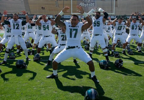 Army will get a chance to see Hawaii's Haka Dance in 2022 and 2024 (Doug Pensinger/Getty Images North America)