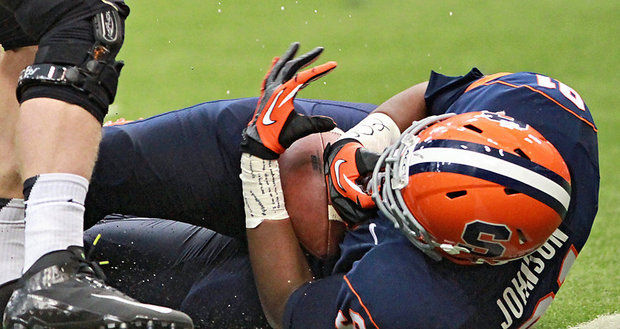 Syracuse DL Isaiah Johnson Forced To Leave Football
