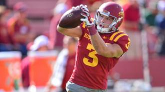 Jake Rhoads plays wide receiver for Iowa State (Getty Images)