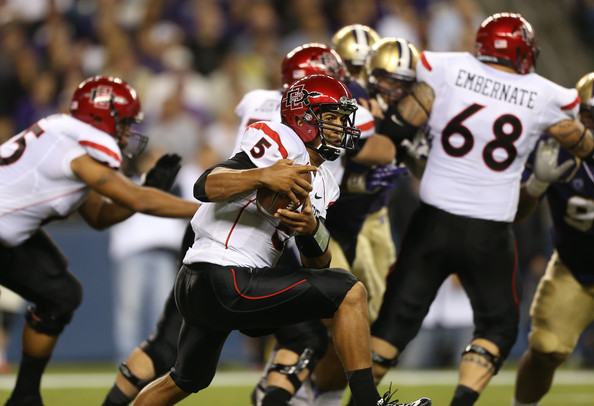 San Diego State and San Diego will square off to start the 2015 season (Otto Greule Jr/Getty Images North America)
