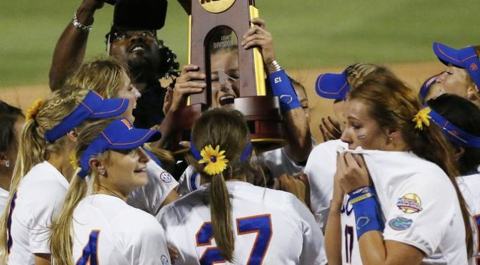 2015 NCAA Division I Softball Bracket Announced