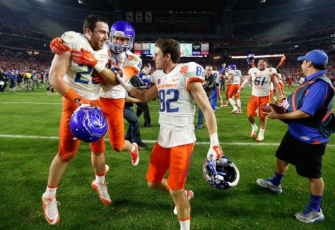 Boise State looks to continue their dominance in the Mountain West during the 2015 season. (Christian Petersen/Getty Images North America)