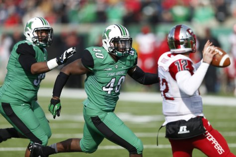 Conference USA's East Division looks likely to come down to Marshall and Western Kentucky in 2015. (Joe Robbins/Getty Images North America)