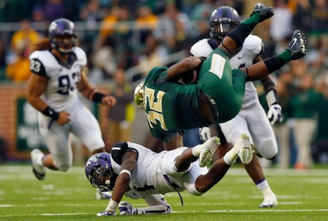 TCU and Baylor both finished 2014 with 8-1 records in Big 12 play. Will it come down to these two again in 2015? (Tom Pennington/Getty Images North America)