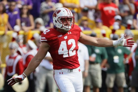 T.J. Watt and the Wisconsin defense have been as good as advertised through five games. (Jonathan Daniel/Getty Images North America)