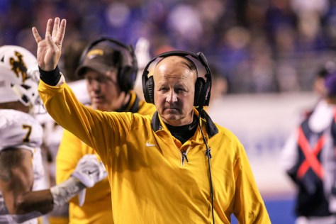 Craig Bohl has Wyoming on the precipice of the team's best season as a member of the Mountain West Conference (Loren Orr/Getty Images North America)
