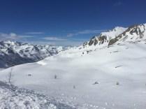 De l'autre côté du versant, l'Italie