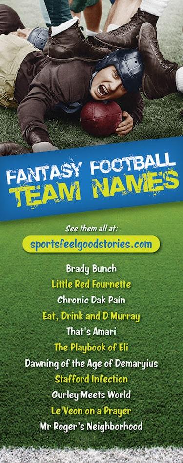 Aaron Rodgers Fantasy Names : aaron, rodgers, fantasy, names, Funny, Fantasy, Football, Names, Clever,, Good,