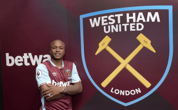 West Ham manager demands instant impact from record-signing Andre Ayew