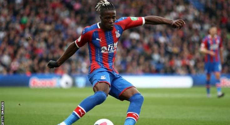 Wilfried Zaha: Crystal Palace act on racial abuse of forward on social media