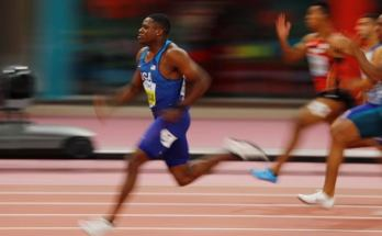 American Sprinter Christian Coleman Is World Fastest