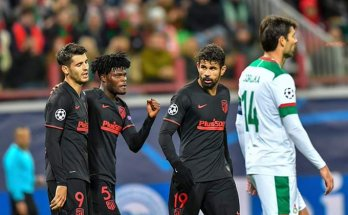 Thomas Partey scores in Atletico Madrid win over Lokomotiv Moscow