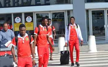Asante Kotoko arrive in Abidjan ahead of FC San Pedro game