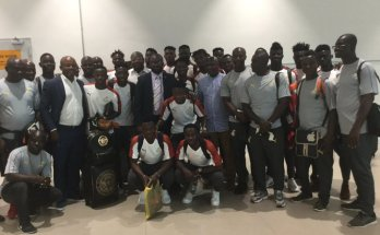 GFA President Kurt Okraku, Executive Council members see off Black Stars