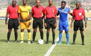 2019/2020 GPL: Match Officials for day two announced