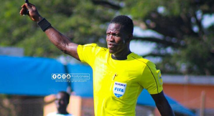 Referee Daniel Laryea to handle 2022 AFCON qualifier