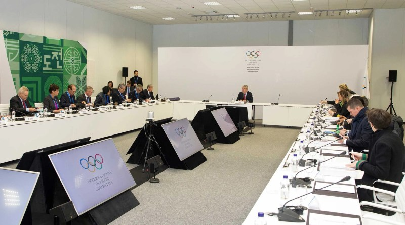 IOC Board meeting