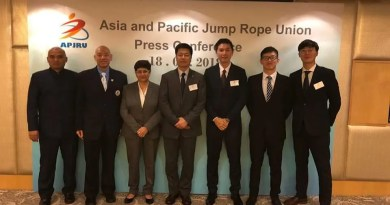 Asia Pacific Jump Rope Union Formed