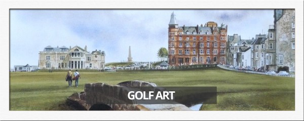Famous Golf Course Painting