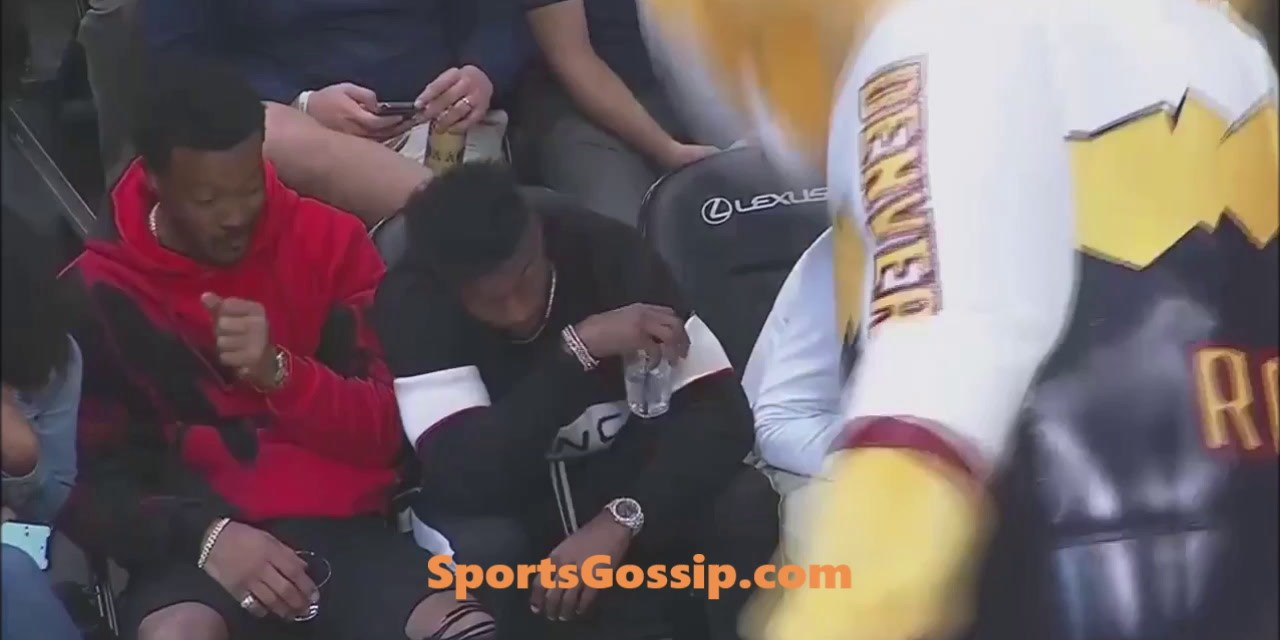 Von at the Nuggets Game