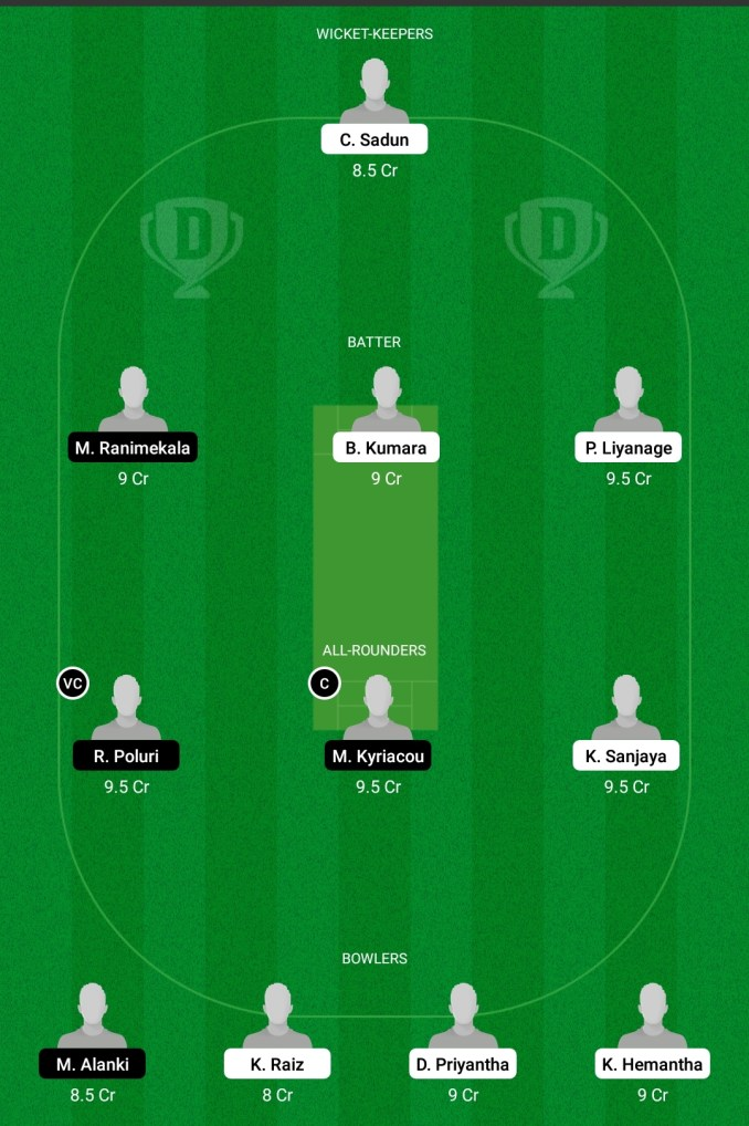 SLL vs CEC Dream11 prediction, Player stats, Playing 11, Pitch report, Dream11 team, and Injury Update