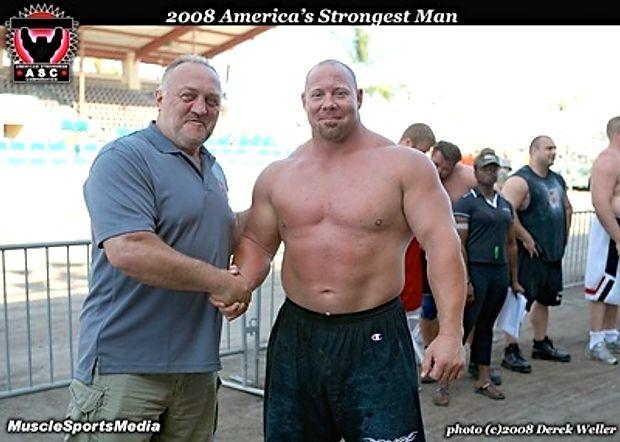 Volleyball USA T Shirt Bill Kazmaier World/'s Strongest Man Homme Fort