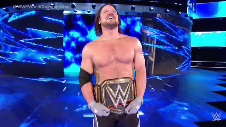 WWE Backlash 2016 results: AJ Styles wins world title, one of three new champs - CBSSports.com
