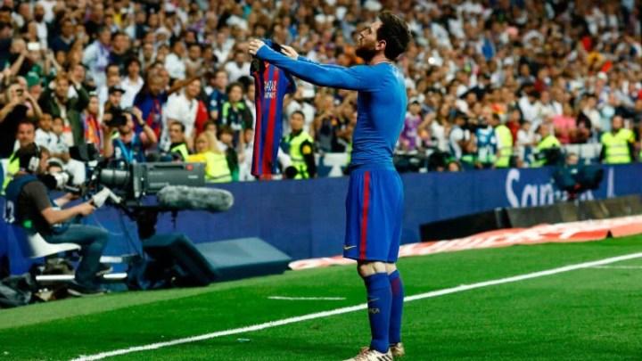 L'esultanza di Messi contro il Real Madrid nel countdown calcistico scelto da Numerosette Magazine | numerosette.eu